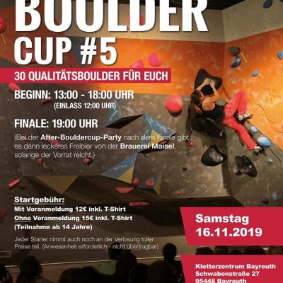 Bayreuther Bouldercup#5